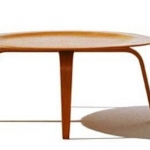 Eames Moulded Plywood Table by Herman Miller