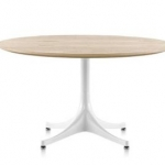 Nelson Pedestal Table by Herman Miller