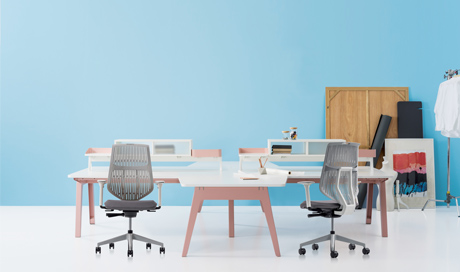 Optimis Desking by POSH a Herman Miller Company
